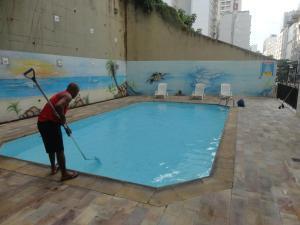 Real Residence Apart-hotel Copacabana, Апарт-отели  Рио-де-Жанейро - big - 6