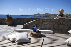 Boundless Blue Villas, Vily  Platis Yialos Mykonos - big - 37