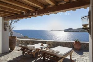 Boundless Blue Villas, Vily  Platis Yialos Mykonos - big - 41