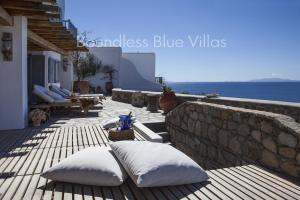 Boundless Blue Villas, Vily  Platis Yialos Mykonos - big - 42