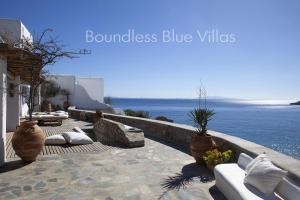 Boundless Blue Villas, Villas  Platis Yialos Mykonos - big - 44