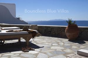 Boundless Blue Villas, Vily  Platis Yialos Mykonos - big - 45