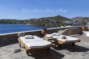 Boundless Blue Villas, Villas  Platis Yialos Mykonos - big - 46