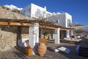 Boundless Blue Villas, Villas  Platis Yialos Mykonos - big - 81