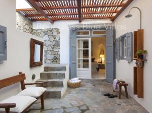 Boundless Blue Villas, Villas  Platis Yialos Mykonos - big - 62