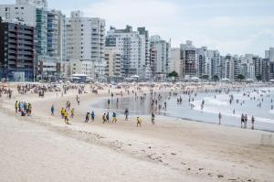 APÊ AR nos 2 qtos WiFi Netflix Churrasqueira, Apartmány  Guarapari - big - 80