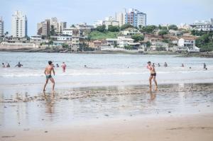 APÊ AR nos 2 qtos WiFi Netflix Churrasqueira, Apartmány  Guarapari - big - 66