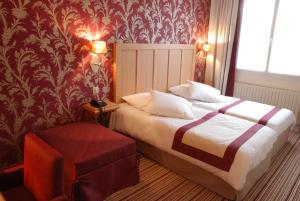 Hôtel Les Fleurs, Hotely  Pontaubert - big - 4