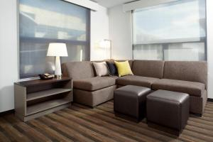 Deluxe One-Bedroom King Suite with Sofa Bed