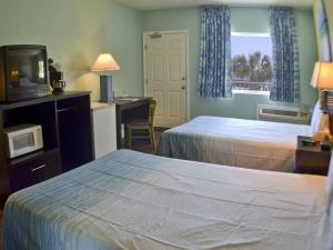 Standard Double Room with Balcony - Gulf Side