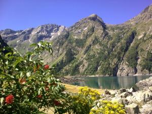 Camping La Cascade, Шале  Le Bourg-d'Oisans - big - 9