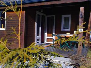 Camping La Cascade, Шале  Le Bourg-d'Oisans - big - 18