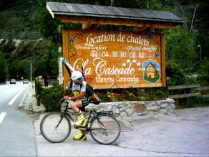 Camping La Cascade, Шале  Le Bourg-d'Oisans - big - 15
