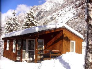 Camping La Cascade, Шале  Le Bourg-d'Oisans - big - 2
