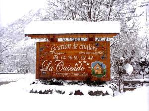 Camping La Cascade, Шале  Le Bourg-d'Oisans - big - 25