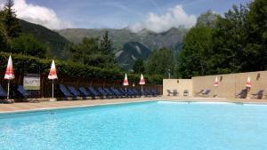 Camping La Cascade, Шале  Le Bourg-d'Oisans - big - 27