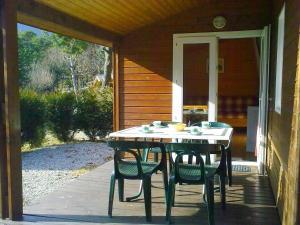 Camping La Cascade, Шале  Le Bourg-d'Oisans - big - 3