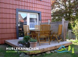 Mein Landhaus - Grosse Ferienwohnung, Apartments  Bad Harzburg - big - 38