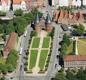 Lübecker Ganghausperle, Dovolenkové domy  Lübeck - big - 19