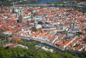Lübecker Ganghausperle, Dovolenkové domy  Lübeck - big - 16