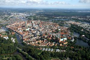 Lübecker Ganghausperle, Dovolenkové domy  Lübeck - big - 15