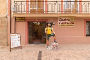 Albergue de Peregrinos Cuatro Cantones, Хостелы  Belorado - big - 39