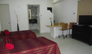 Aparthotel Siete 32, Apartmánové hotely  Mérida - big - 18