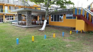 Hotel y Balneario Playa San Pablo, Отели  Monte Gordo - big - 230