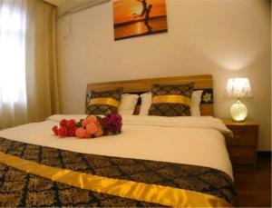 Qingdao Dusco Holiday Apartment Shilaoren Park, Apartmanok  Csingtao - big - 9