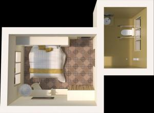 Interior Double or Twin Room