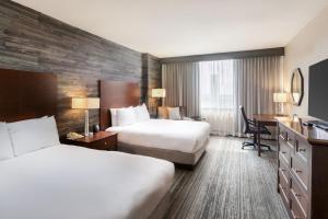 Doppelzimmer mit 2 Queensize-Betten - Upgrade mit kleinen Extras