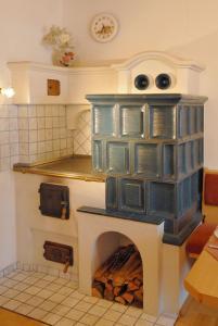 Bio-Holzhaus und Landhaus Heimat, Apartmány  Ramsau am Dachstein - big - 43