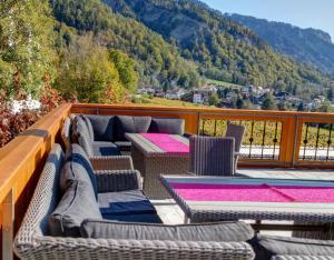 Gasthof zur Bündte, Hotels  Jenins - big - 32