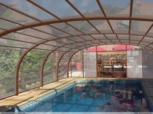 Loma Escondida Apart Cabañas & Spa, Lodges  Villa Gesell - big - 27