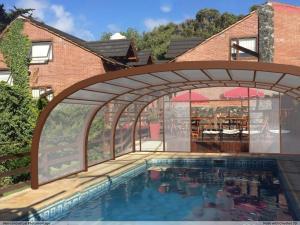 Loma Escondida Apart Cabañas & Spa, Turistaházak  Villa Gesell - big - 25