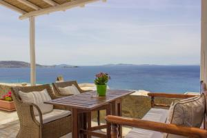 Villa Oceania, Aparthotels  Tourlos - big - 23