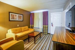 Suite med king-size-seng og sovesofa