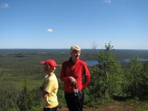 Ollilan Lomamajat, Holiday homes  Kuusamo - big - 186