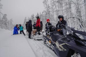 Ollilan Lomamajat, Nyaralók  Kuusamo - big - 199