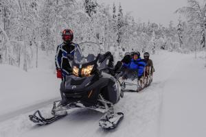 Ollilan Lomamajat, Holiday homes  Kuusamo - big - 150