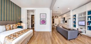 THE FACE Suites, Апарт-отели  Куала-Лумпур - big - 10