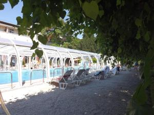 Hotel Aquamarin, Hotely  Hévíz - big - 76