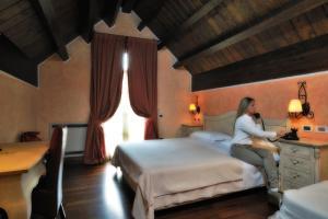 Hotel Villa Danilo, Отели  Гамберале - big - 10