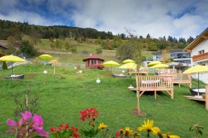 Alpen-Herz Romantik & Spa - Adults Only, Szállodák  Ladis - big - 100