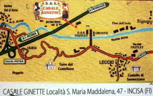 Casale Ginette, Hétvégi házak  Incisa in Valdarno - big - 59