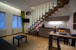 Green and Blue Garden Apartments, Apartmanok  Belgrád - big - 6