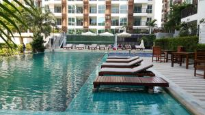 Diamond Suites Condo No.379/42, Apartmány  Pattaya South - big - 19