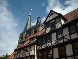 Ferienwohnungen Marktstrasse 15, Apartmány  Quedlinburg - big - 89