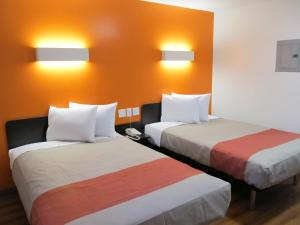 Double Room with Two Double Beds with Kitchen - Non-Smoking