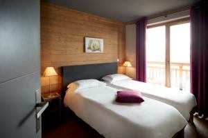 Les Chalets du Soleil Contemporains, Apartmánové hotely  Les Menuires - big - 23